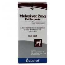 Meloxivet 2 mg Anti-inflamatório c/ 120 comp - Duprat - Duprat