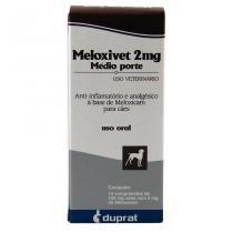 Meloxivet 2mg Anti-inflamatório c/ 10 comprimidos - Duprat -