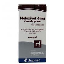 Meloxivet 6mg Anti-inflamatório c/ 120 comp - Duprat -