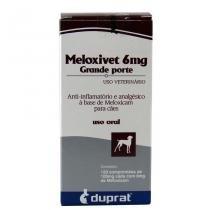 Meloxivet 6mg Anti-inflamatório c/ 120 comp - Duprat - Duprat