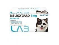 Meloxygard 1 mg Anti-inflamatório para cães Labgard 10 comprimidos -