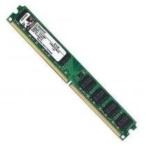 Memória 2GB 667Mhz DDR2 UDIMM Desktop KVR667D2N5/2G Kingston -