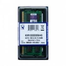 Memória 8GB DDR3 1333 Mhz Kingston p/ Notebook - KVR1333D3S9-8GB -