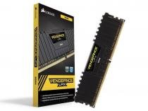 Memoria Desktop Gamer DDR4 Corsair CMK8GX4M1A2400C16 8GB 2400MHZ DIMM CL16 Vengeance LPX BLACK -