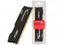 Memoria Desktop Gamer HYPERX 16GB DDR4 2400MHZ DIMM CL15 BLACK HX424C15FB/16 FURY - Kingston