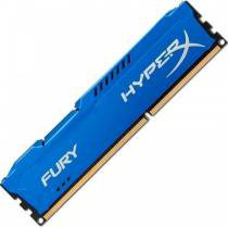 Memória Kingston HyperX FURY 4GB 1866Mhz DDR3 CL10 Blue - HX318C10F/4 -