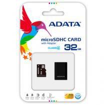 Memory card adata class4 micro sdhc c/adapt sd 32gb ausdh32gcl4rm3bkbl -