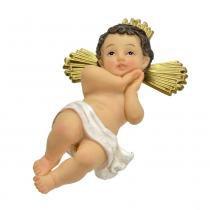 Menino Jesus com Cruz 11.5cm Divino Santini Christmas -