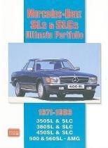 Mercedes-Benz Sls  Slcs 1971-1989 Ultimate Portfo - Brooklands book ltd