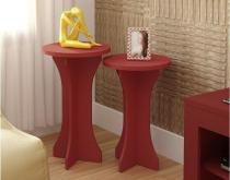 Mesa apoio luck - vermelho - artely -