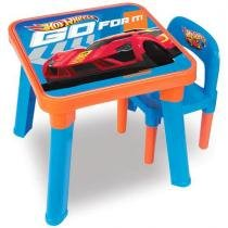 Mesa com Cadeira Hot Wheels HW6020 Fun - Fun