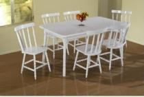 Mesa dallas com seis cadeira - Scholl