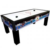 Mesa de Aero Hockey Klopf Animado com 2 Discos e 2 Rebatedores - 1046 -