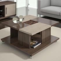 Mesa de Centro Alana 8080 Rovere Marsala/Santana - Knr móveis
