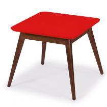 Mesa de Centro Basic Maxima Cacau/Vermelho - Maxima