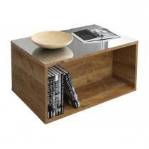 Mesa de Centro Classic Tampo de Vidro - Dj Móveis - Dorale -