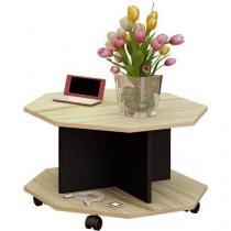 Mesa de Centro com prateleira Artely - Prisma