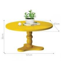 Mesa de Centro Intense - Amarelo - Patrimar