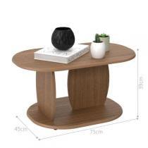 Mesa de Centro Madri - Imbuia Touch - Ej móveis