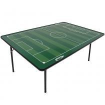 Mesa de Futebol de Botão Klopf com Pés de Ferro - Verde 1025 - Klopf