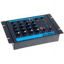 Mesa de Som 4 Canais (3 P10 Balanceados + RCA) - OMX 4 Oneal - Oneal