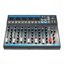 Mesa de Som 5 Canais XLR Balanceados c/ USB / Efeito / 1 Auxiliar - OMX 52 Oneal - Oneal