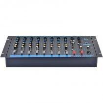 Mesa de Som 8 Canais + 1 Auxiliar CD/DVD/MP3-4 OMX-8 - Oneal - Oneal