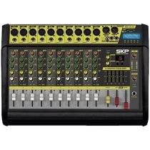 Mesa de Som Amplificada 10 Canais 500W VZ-100A II - SKP - SKP