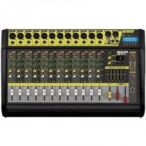 Mesa de Som Amplificada 12 Canais 500W VZ-120A II - SKP - SKP