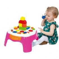 Mesa Infantil Play Time Atividades - Cotiplás