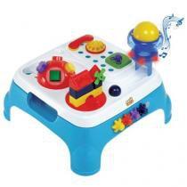Mesa maxi atividades azul com som magic toys 1060l - Magic toys