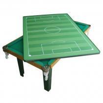 Mesa Multiuso 4 em 1 Klopf MDF 20mm Sinuca, Ping-Pong, Futebol de Botão, Mesa uso Diverso - Klopf