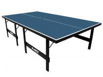 Mesa Oficial para Tênis de Mesa 12mm Olimpic - c/ Pés em Madeira Maciça e Dobráveis