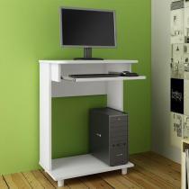 Mesa para Computador Branco Mc8009 - Art in Móveis