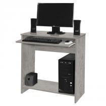 Mesa para Computador China Carvalho Bianco com Preto Móveis Primus -