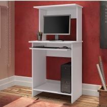Mesa para Computador Compacta Teen Jr Art in Móveis Branco -
