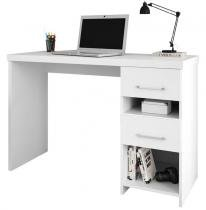 Mesa para Computador Duna New Branco Acetinado - Móveis Germai -