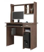 Mesa para Computador Elite Castanho - EJ Moveis - Ej móveis