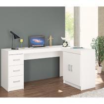 Mesa para Computador/Escrivaninha Kit Espanha - 2 Portas 3 Gavetas - Politorno