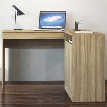 Mesa para Computador/Escrivaninha Portugal - 2 Portas 2 Gavetas - Politorno