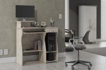 Mesa para Computador Marina Malbec - Móveis Patrimar -