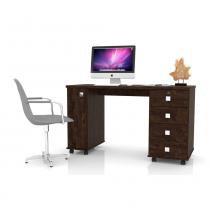 Mesa para Computador Office Smart Noce - Móveis Lukaliam -
