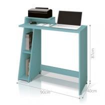 Mesa para Computador Office Zoon - Acqua - EDN Móveis