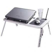 Mesa Para Notebook E-Table Com Cooler Duplo - Rpc