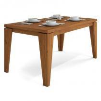 Mesa para Sala de Jantar Bela Rústico Terrara - Dj Móveis -