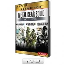 Metal Gear Solid HD Collection para PS3 - Konami