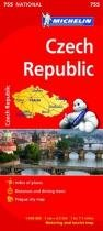 Michelin czech republic national map - Michelin anglais