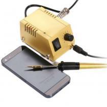 Micro estação de solda para smd, Smt, Dip, joalhero, micro eletrônica  - GT441 220v - Lorben