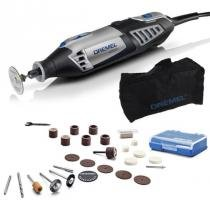 Micro Retífica Elétrica 4000 c/ 26 Acessórios 110V - DREMEL -