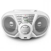 Micro System Boombox Philips Branco USB/CD PX3115WX - Philips